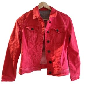 Parasuco-Red Jean Jacket, Small